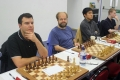 GM Nicholas Pert, IM Richard Palliser, IM Yang-Fan Zhou and IM Alan Merry