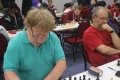 On top boards in the Under 120 round 5