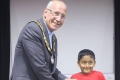 Shlok Verma sharing third place in the Under 10