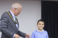 Stakhey Sedykh sharing third place in the Under 10