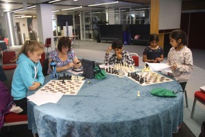 Competitors at the problem solving event