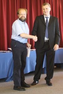 Alexander Best Game Prize winner Richard Palliser