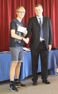AM Open Winner Alex Bullen