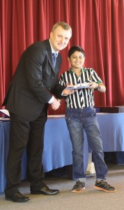 U11 Winner Dhruv Easwar