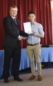 U21 Champion Justin Tan